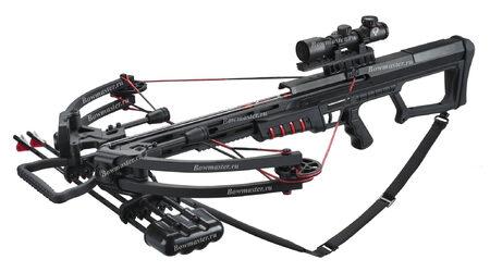 купите Блочный арбалет Man-Kung МК-400 черный в Санкт-Петербурге СПБ